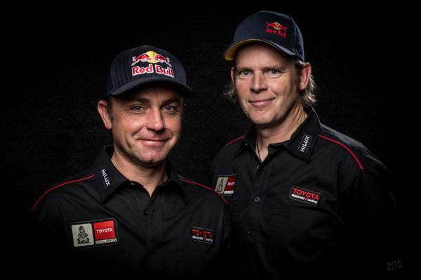 Giniel de Villiers and Dirk von Zitzewitz